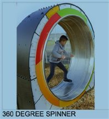 360 degree spinner