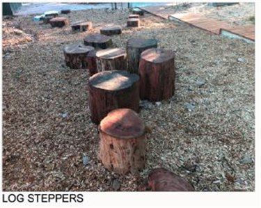 Log steppers