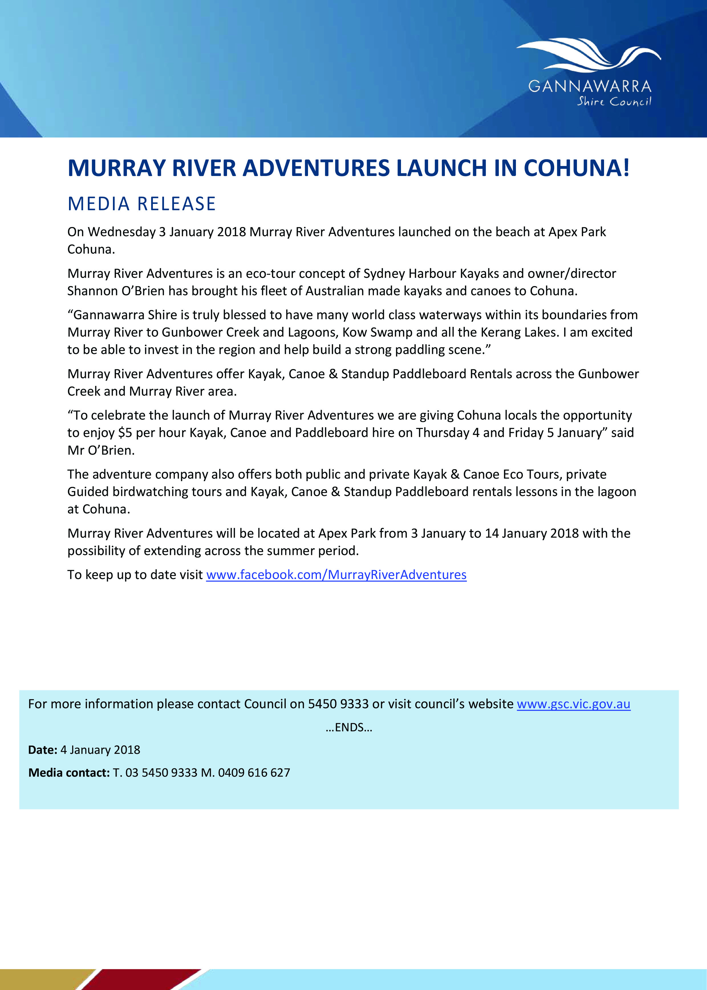 MR_Murray River Adventures Launch in Cohuna.jpg